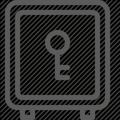 Appliance, Box, Furniture, Goods, Home, Safe, Stuff Icon