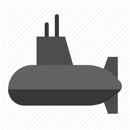 Army, Force, Military, Submarine, Vehicle Icon