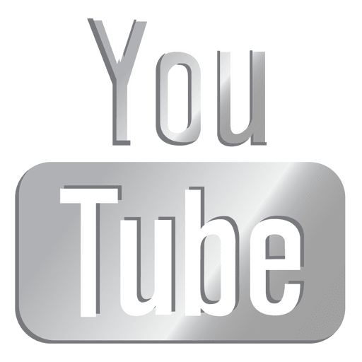 Youtube Silver Icon