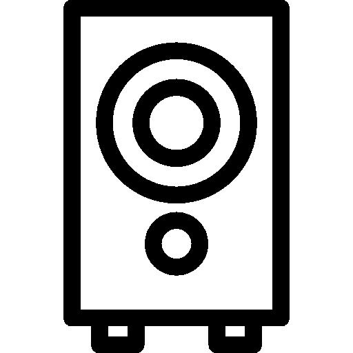 Subwoofer Speaker Icons Free Download
