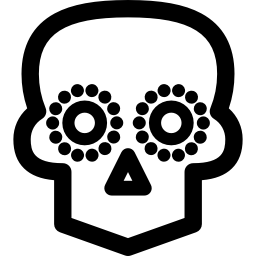 Mexican Skull Icons Free Download