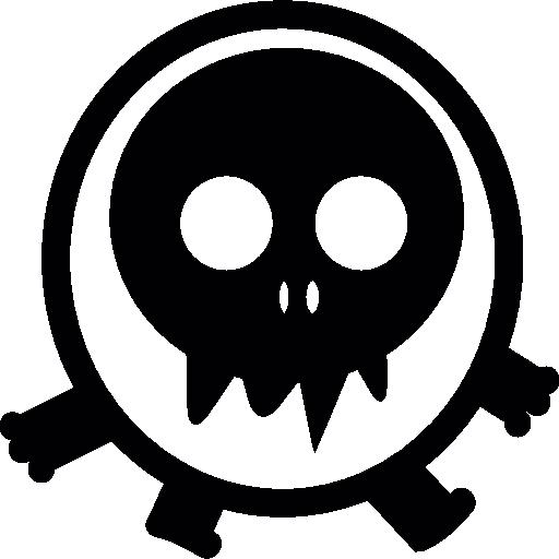 Walking Skull Head Monster Icons Free Download