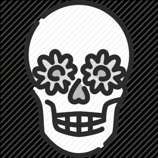 Dangerous, Halloween, Horror, Pirate, Skull, Sugar Skull Icon