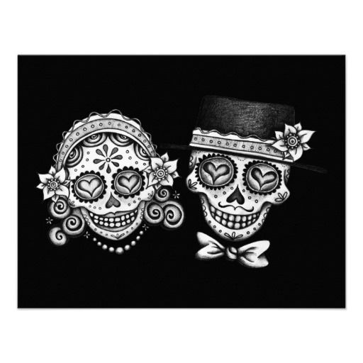 Matching Tattoo Skull Couples Couples Day Of The Dead Tattoo