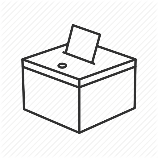 Ballot, Ballot Box, Box, Dropbox, Files, Paper, Suggestion Box Icon