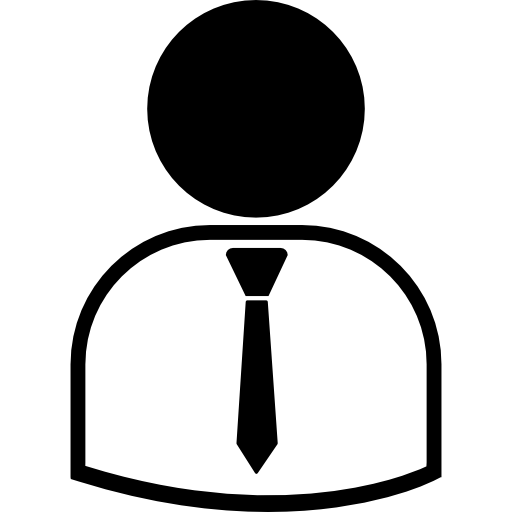 Business Man Wearing Suit And Tie Icons Free Download