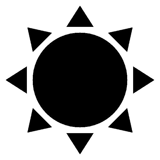Sun Symbol Icon Download Free Icons