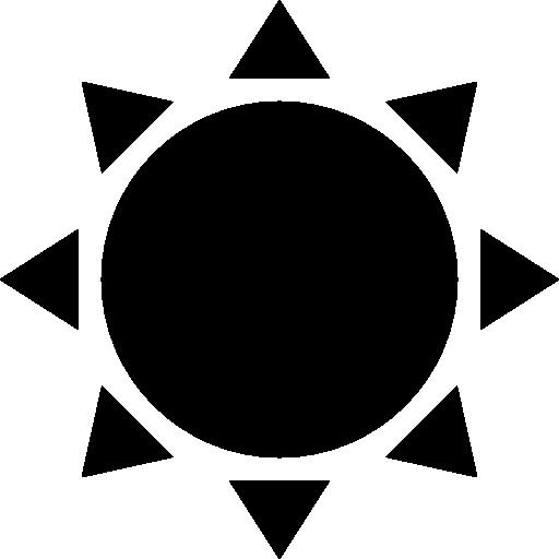 Pointed Icons, Suns, Symbol, Shape, Black, Symbols, Star, Shapes