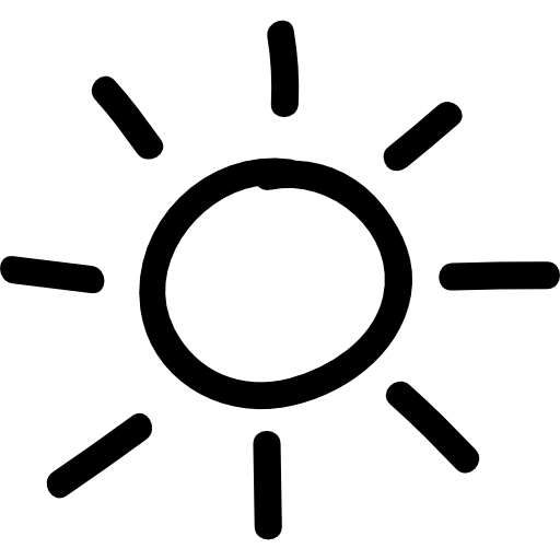 Sun Hand Drawn Symbol Icons Free Download