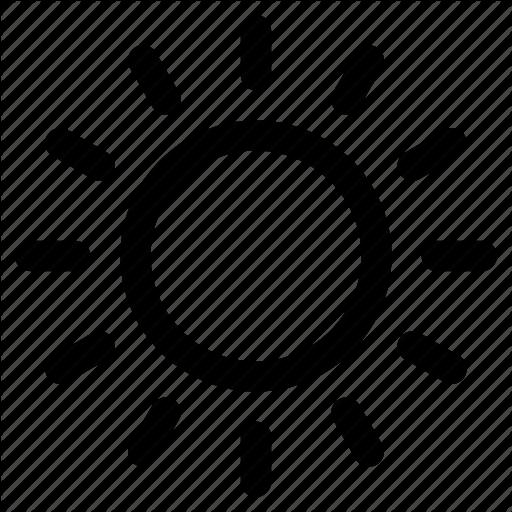 Planet, Sun, Sun Rays, Sunny, Sunshine Icon