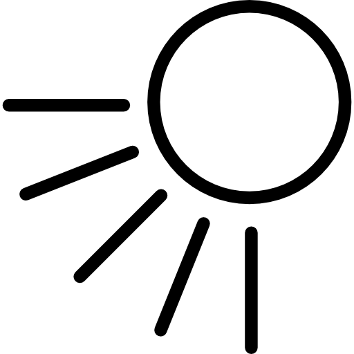 Sunny Day Sun Symbol Icons Free Download