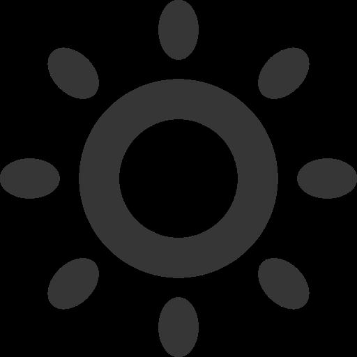 Forecast, Grey, Summer, Sun, Weather Icon