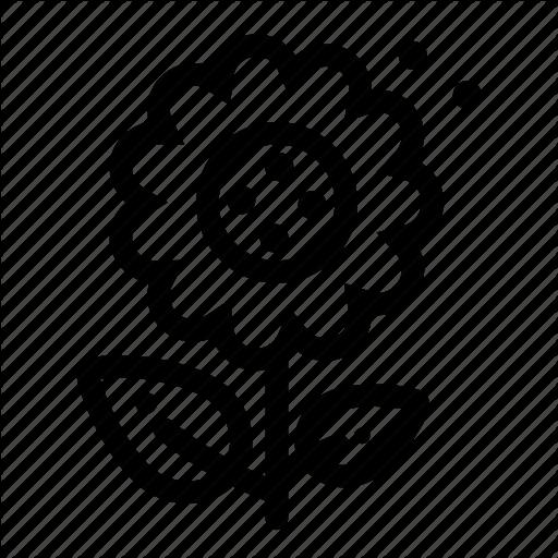 Floral, Flower, Garden, Gardening, Nature, Plant, Sunflower Icon