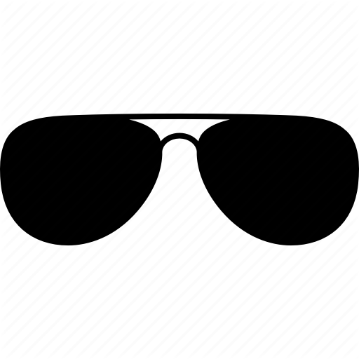 Aviator, Eyeglasses, Eyewear, Glasses, Shades, Sun, Sunglasses Icon