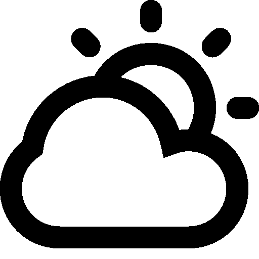 Weather Partly Cloudy Day Icon Android Iconset