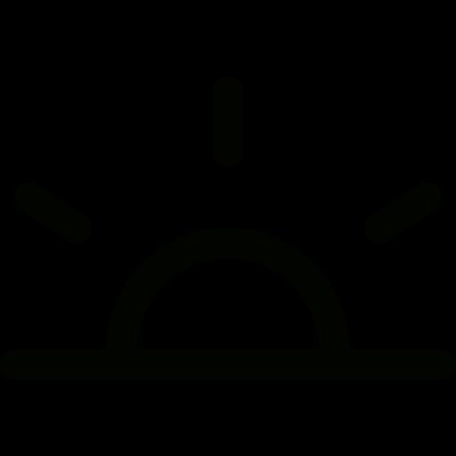 Sunrise Icon Free Of Free Time Management Icons