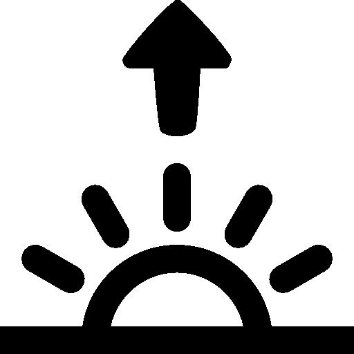 Weather Sunrise Icon Windows Iconset