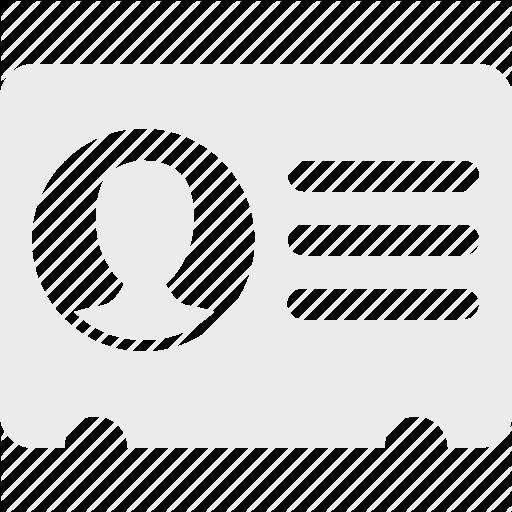 Vcard Icon Ebebeb