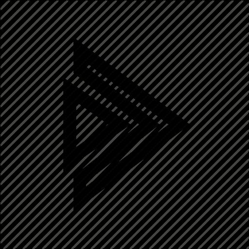 Arrow, Minimalist, Super Icon