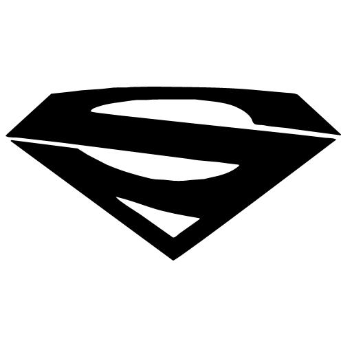Superman Diamond Logo Clipart Collection