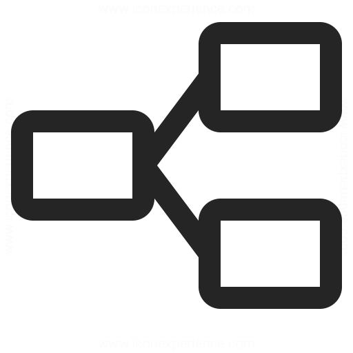Elements Branch Icon Iconexperience