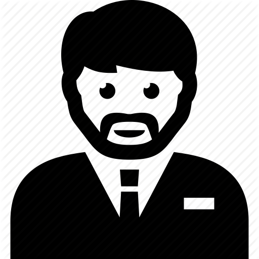 Casino, Manager, Staff, Supervisor Icon