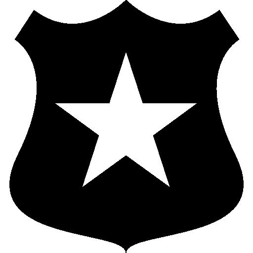 Policemen, Shield, Symbol, Policeman, Symbols, Shape, Star, Police