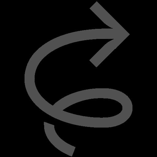 Arrow, Clockwise, Twister, Tornado, Swirl Icon