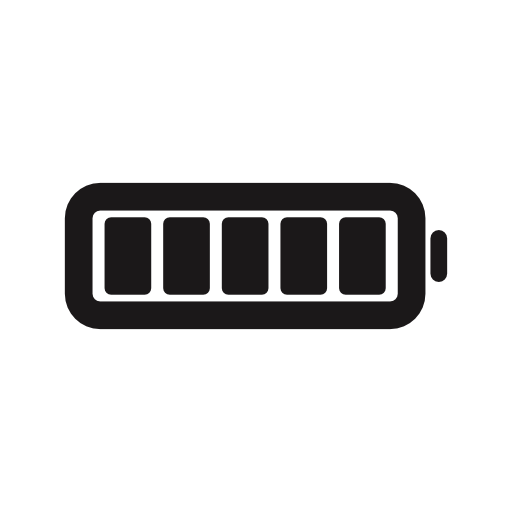 Full Battery Charge Status Interface Symbol Free Vector Icons