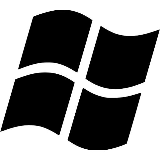 Black Os Windows Icon