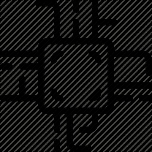 Core, Processor, Programing, System Icon