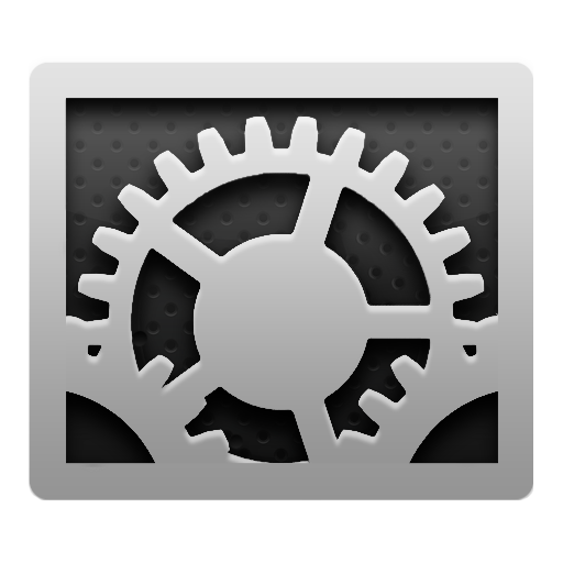 System, Preference Icon