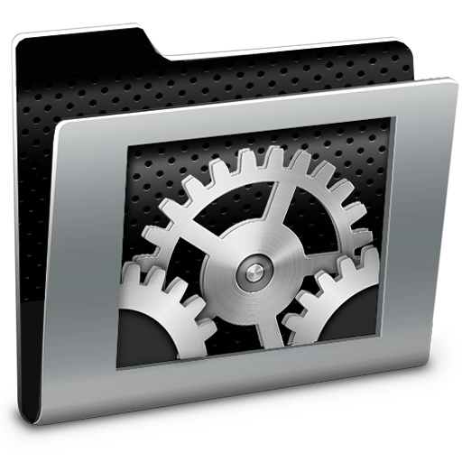 Cool System Preferences Icon Black Images