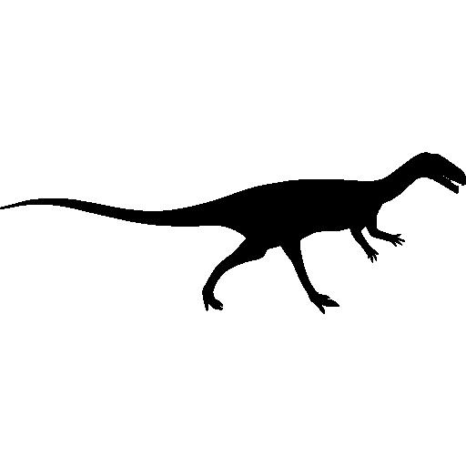 Extinguished, Shape, Dinosaur, Side View, Animal, Tyrannosaurus