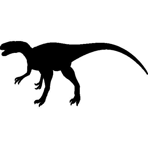 Megalosaurus Dinosaur Shape Icons Free Download