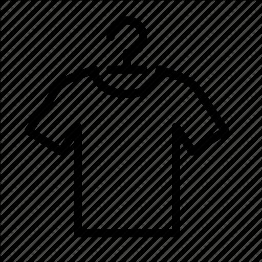 Clothes, Hanger, Hanging, Ios, Shirt, Tee, Tshirt Icon
