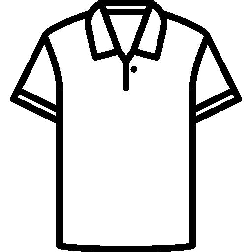 Cotton Polo Shirt Icons Free Download
