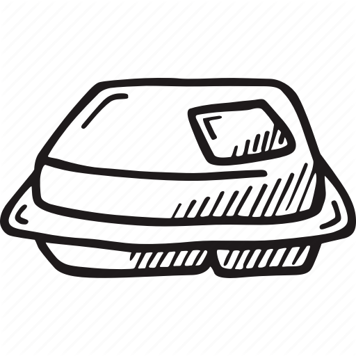 Take Out Food Container Icon