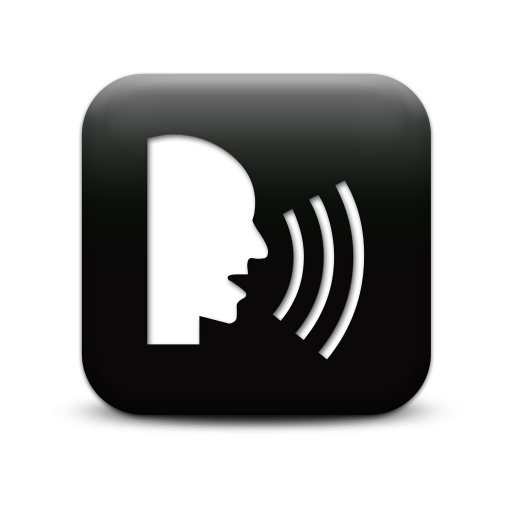 Talking Head Icon