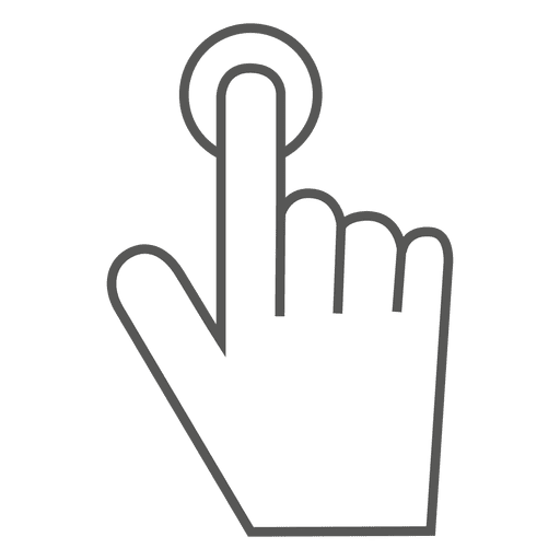 Tap Gesture Icon