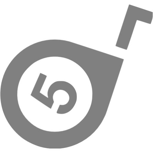 Gray Tape Measure Icon