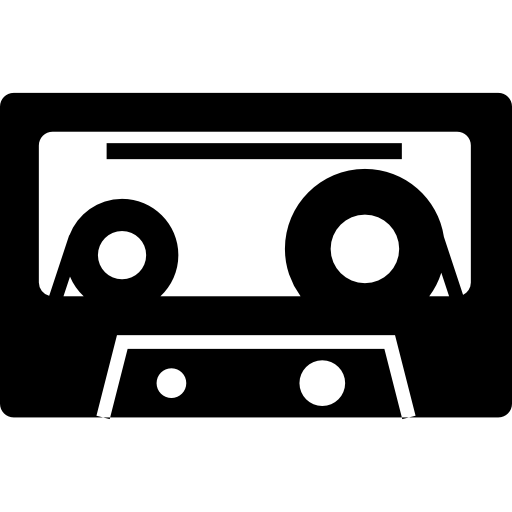 Audio Cassette Icon Transparent Png