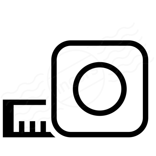 Iconexperience I Collection Tape Measure Icon