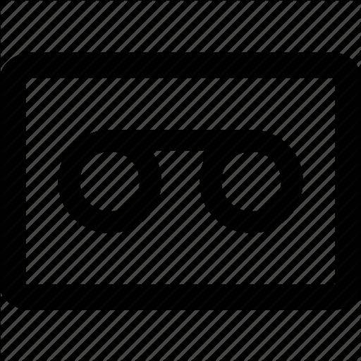 Recorder, Tape Icon