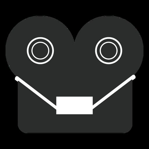 Reel Tape Recorder Flat Icon