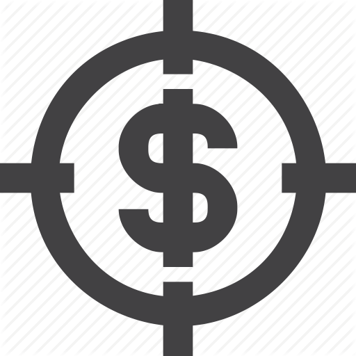 Business, Commerce, Currency, Growth, Target Icon