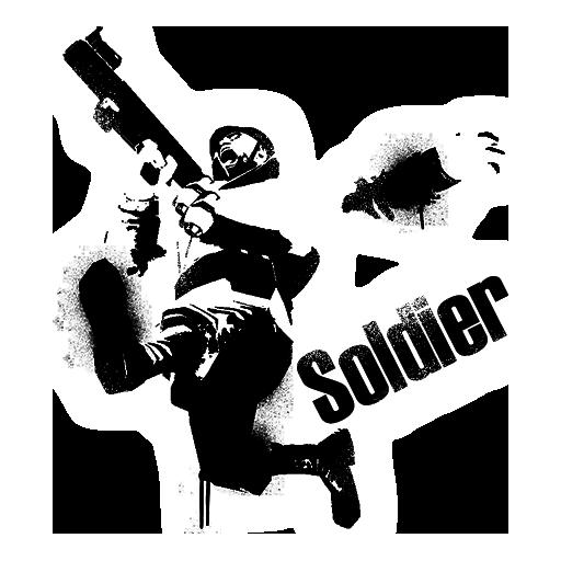 Soldier Jumping Spray Team Fortress Sprays