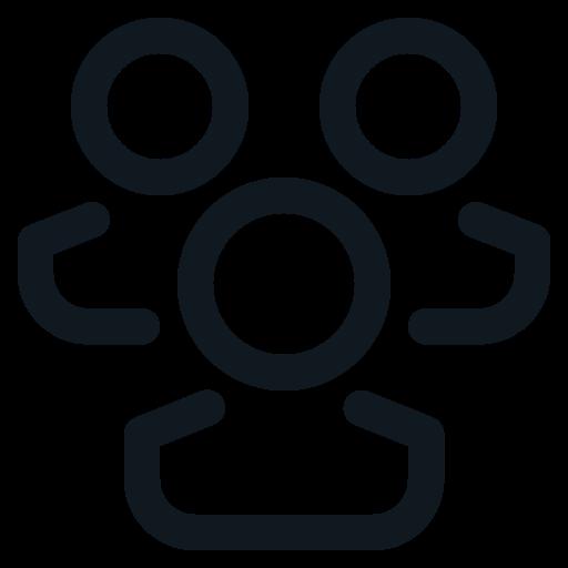 Friend, Group, People, Peoples, Team Icon Free Of Basic Ui