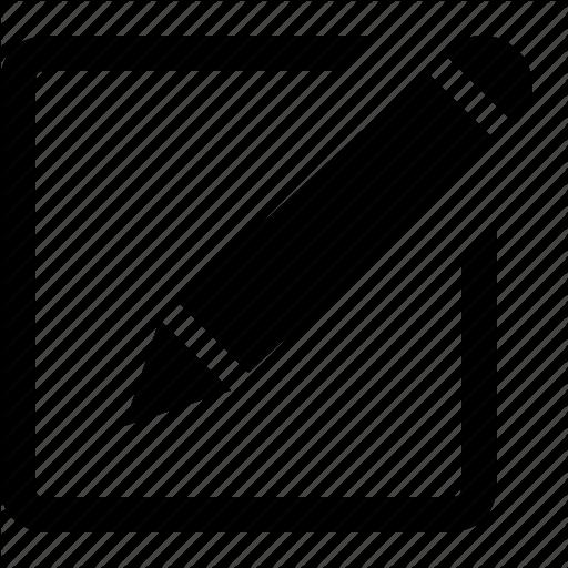 Edit Pencil Icon Transparent Png Clipart Free Download