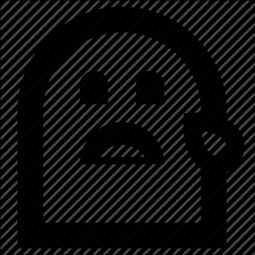 Crying, Emoji, Sad, Tear Icon